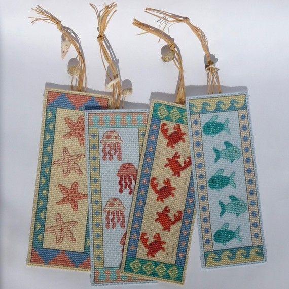 Seaside Bookmarks Cross Stitch Pattern by StitchNotions on Etsy, $4.00