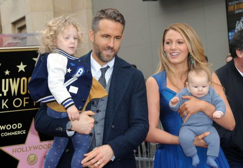 What Blake Lively and Ryan Reynolds Named Their Second Daughter