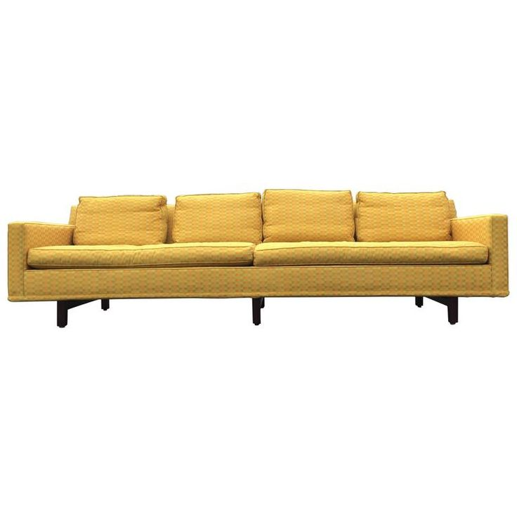 Nice Edward Wormley Sofa for Dunbar, USA, 1950s | From a unique collection of antique and modern sofas at https://www.1stdibs.com/furniture/seating/sofas/