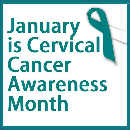 January is Cervical Cancer Awareness Month IN MEMORY OF MY PRECIOUS GRANDDAUGHTER, AMBER   5/31/85 - 1/8/13