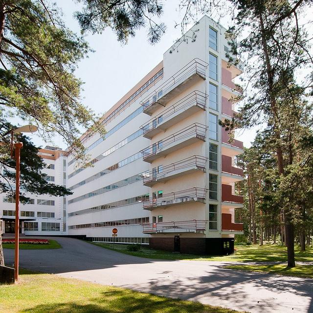 Paimio Sanatorium-Alvar Aalto | Architecture | Pinterest