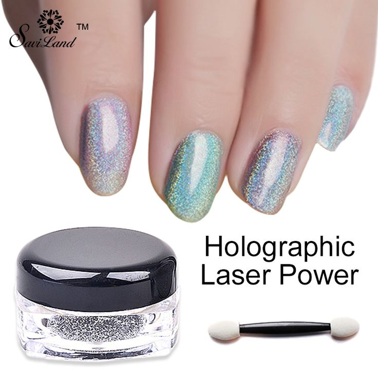 1g/Box Shimmer Rainbow Shinning Mirror Nail Glitter Powder Holo Nails Pigment Perfect Holographic Nails Art Dust Laser