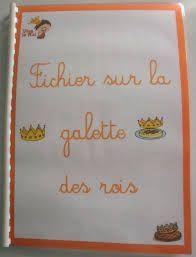 la galette des rois activites maternelles - Recherche Google