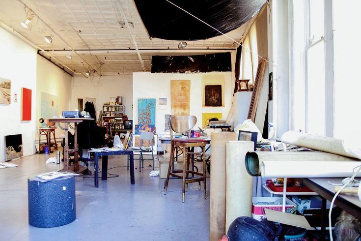 I could feel comfortable living in a studio - Michael Zwack via Freunde von Freunden