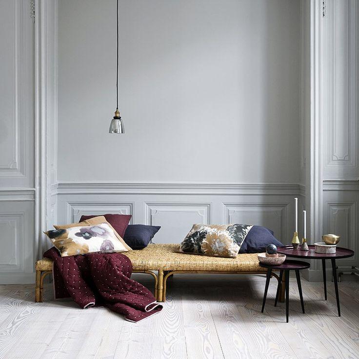 Un coussin effet oxydé, Broste Copenhagen - Marie Claire Maison
