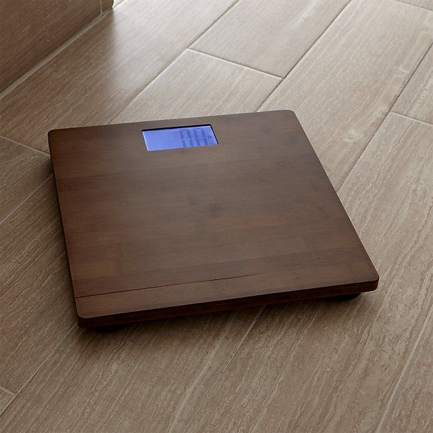 Dixon Bamboo Bathroom Scale   Crate and Barrel. Discover 17 best ideas about Bamboo Bathroom on Pinterest   Zen