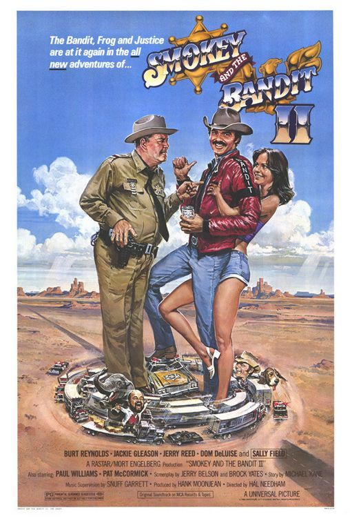 Smokey and the Bandit II Movie Poster - Internet Movie Poster Awards Gallery