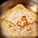 Roti recipe for the thermomix