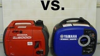 When it comes to Yamaha vs Honda, its a close call, but the Yamaha Inverter Range just comes out on top - slightly lighter, quieter and more fuel efficient.