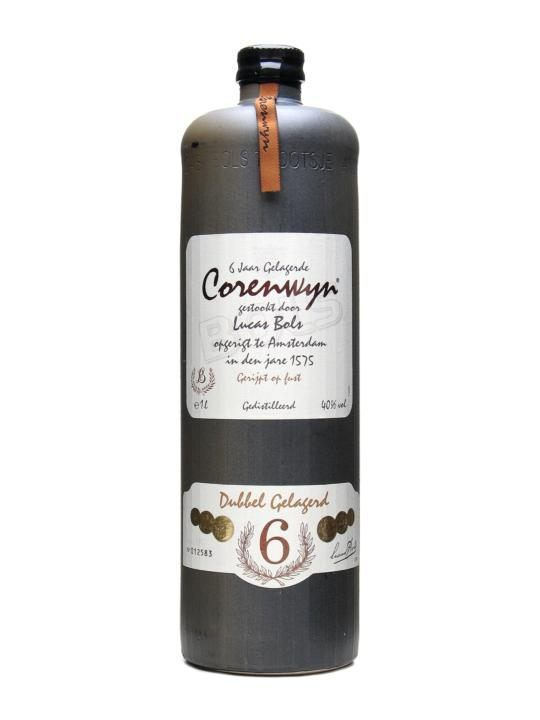A 6 year old Bols Corenwym, made from a mainly malt based distillate, flavoured with juniper and aged in oak casks.