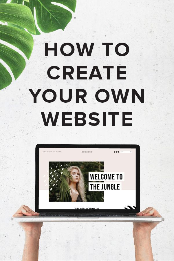 How To Easily Create Your Own Gorgeous And Professional Website Big Cat Creative Diy Website How To Squarespace Templates Diy Web Design Website Training