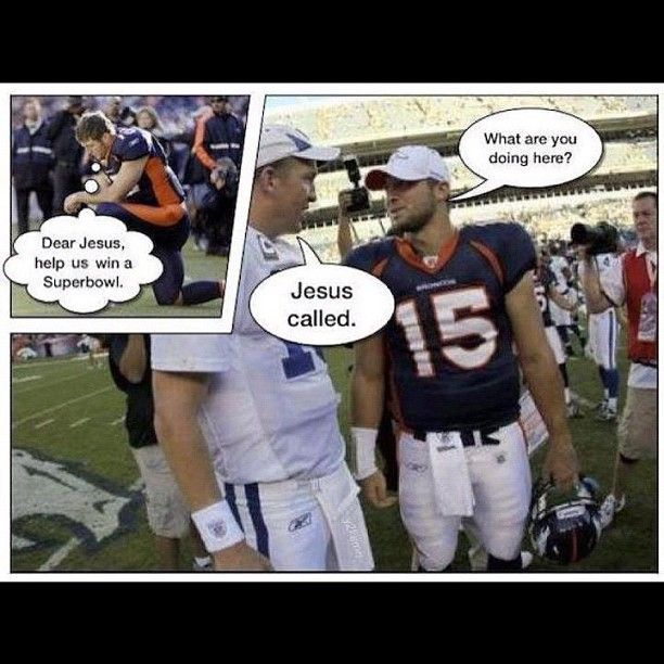 Ha! #Tebow #Manning #Trade