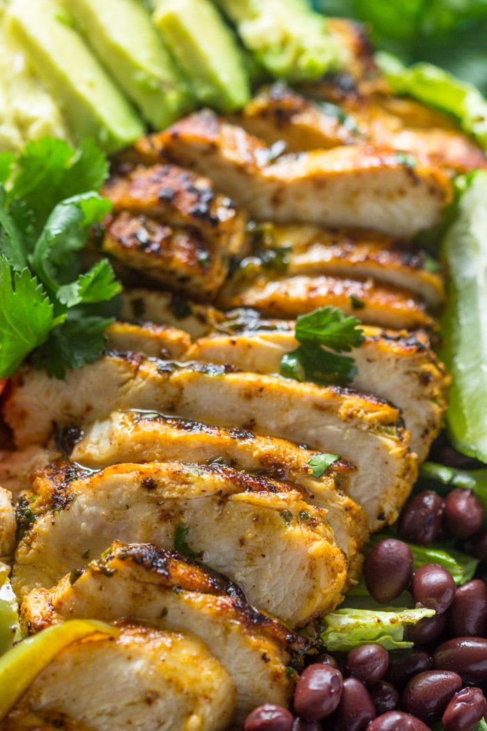 All purpose cilantro lime chicken is juicy, moist, and zesty. It's quick and easy to make and super flavorful. Serve it on tacos, rice, burrito bowls, or quesadillas.After a heat wave here i…
