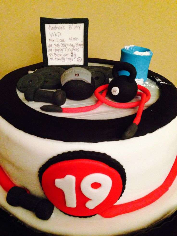 Crossfit Cake! | Graduation | Pinterest - 84.0KB