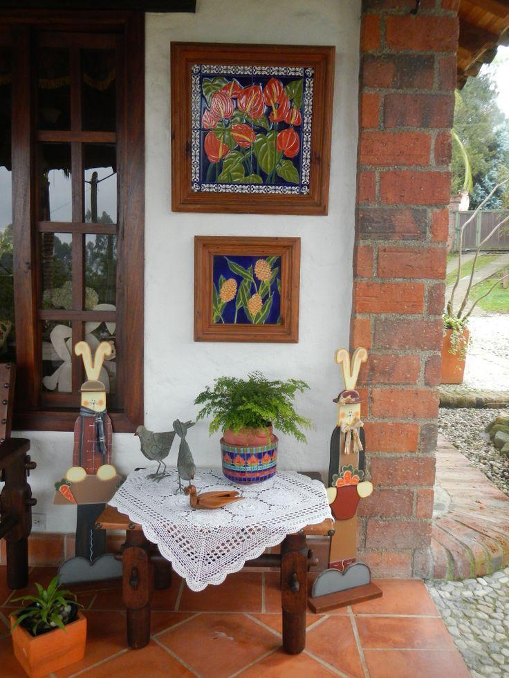 cuadros en esmalte horneados de La Baldoseria