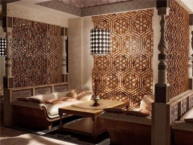 Арабский дизайн интерьера
