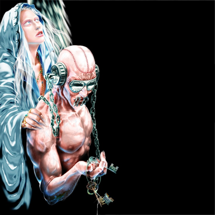 Vic Rattlehead Angel Keys - United Abominations