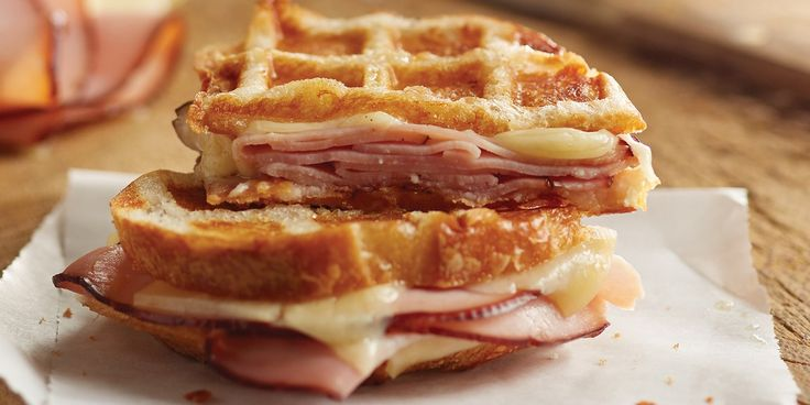Buttering the bread before you waffle it ensures a crispy, golden brown exterior. Adding the maple butter right as the sandwich comes out of the waffle iron means the sweet, rich mixture soaks into the still-warm bread