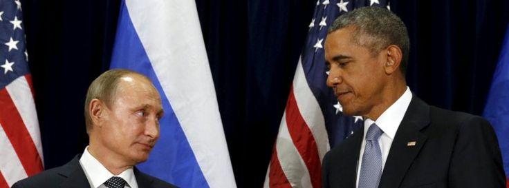 Obama und Putin in New York: Frostiges Treffen der Präsidenten 2015-Thema Ukraine, Syrien und IS Terror