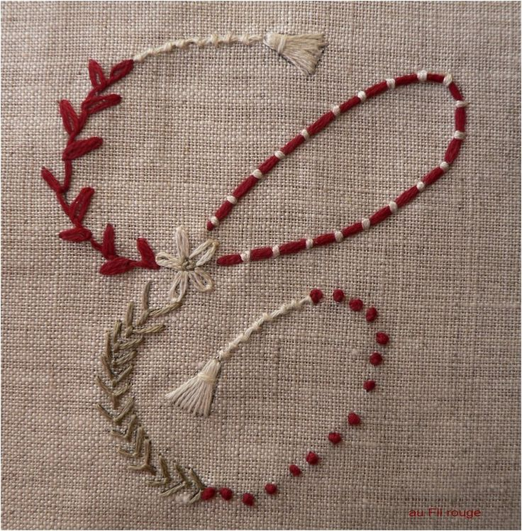 C love the couching embroidery pinterest letter
