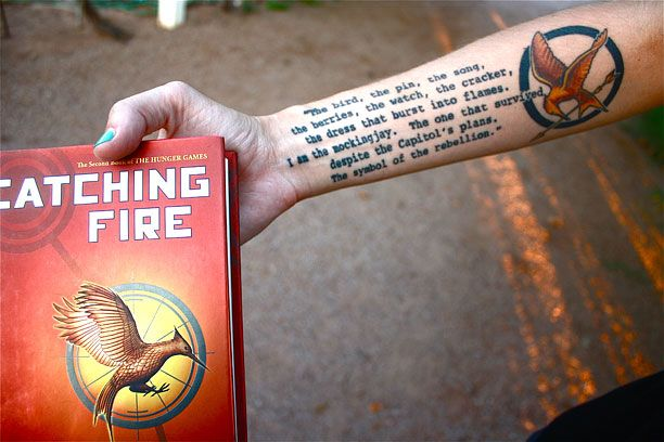 10 awesome Hunger Games tattoos
