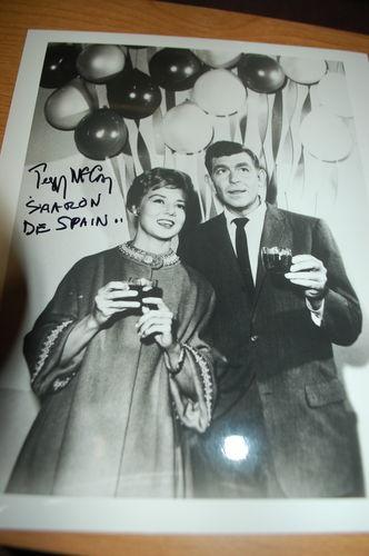 The Andy Griffith Show CLASS REUNION SCENE aut'd PEGGY McCAY SHARON DE SPAIN | eBayScene Aut D, Mccay Sharon, Reunions Scene, Aut D Peggy, Andy Griffith, Autograph Photos, Class Reunions, Years, Peggy Mccay