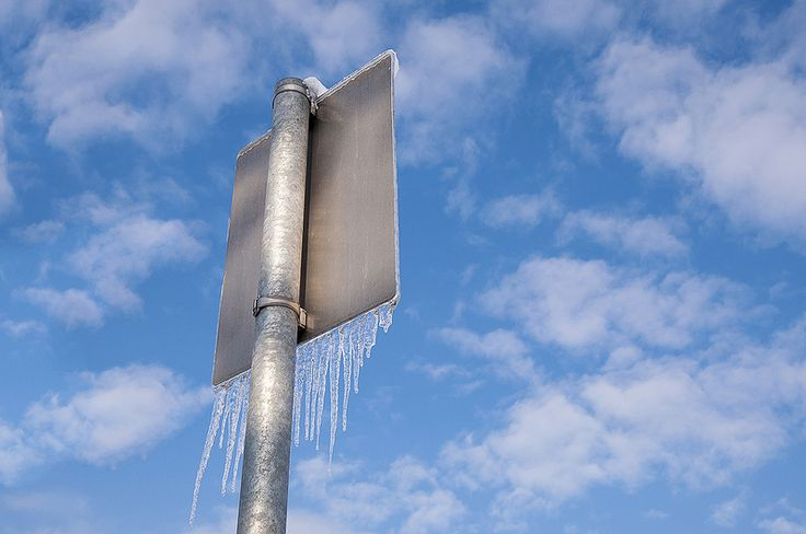Icy Sign.