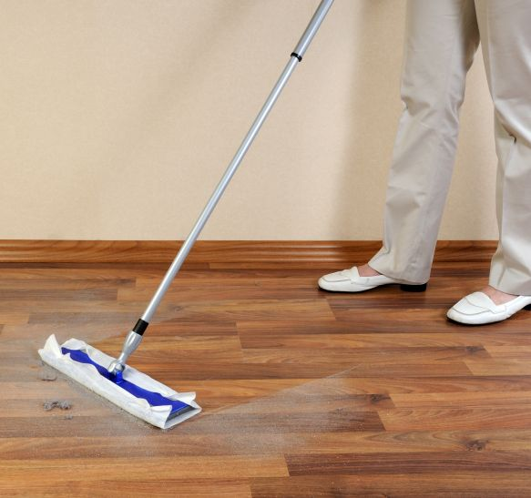 list of floor cleaners you should stay away from and protect your laminate floor from ever coming into contact with: