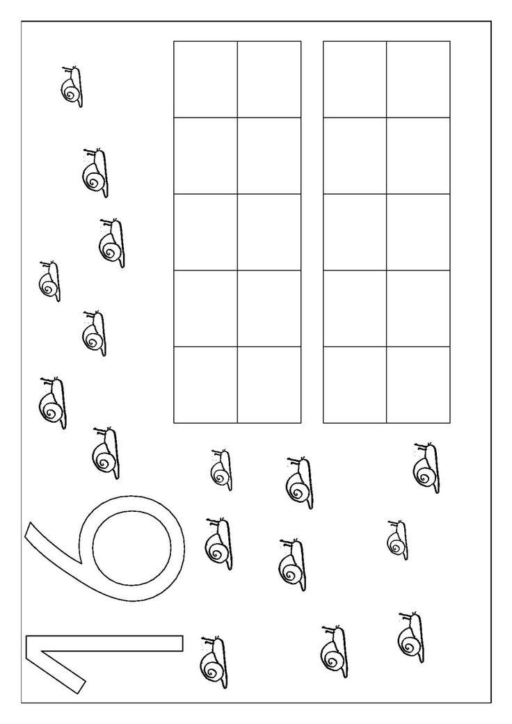 Toujours en naviguant avec Pinterest, j'ai trouvé cette idée d'atelier et j'ai fait quelques fiches pour les nombres de 10 à 20. Je prévois de les agrandir en A3