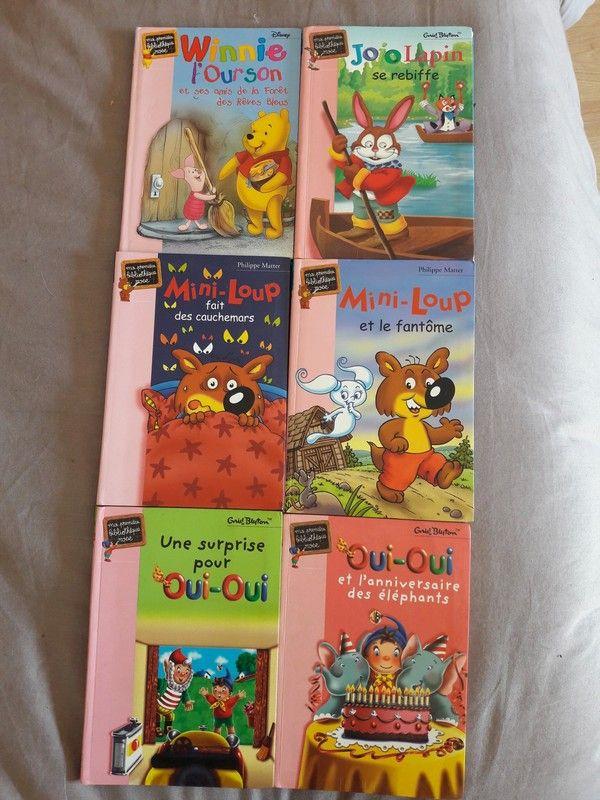 6 Livres Enfants 6 Livres Enfants La Bibliotheque Rose 2