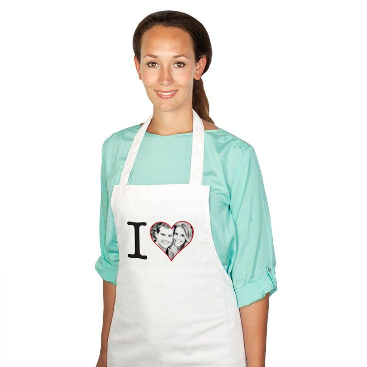 Eine besondere Aufmerksamkeit für Hobbyküche zum Osterfest - Kochschürze mit eigenem Foto und Text