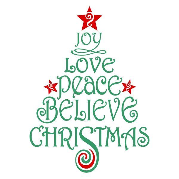 Download Believe Christmas Cuttable Design   Christmas svg files ...
