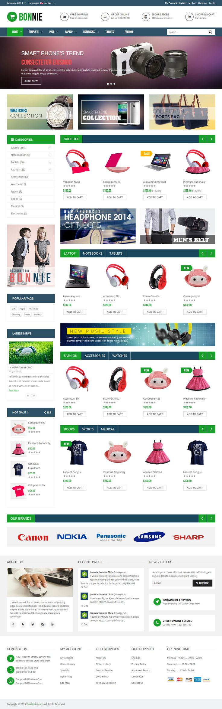 12 plumber joomla themes templates free premium vina bonnie is premium responsive retina joomla