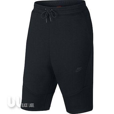 Nike Tech Fleece 2.0 Herren Sport Shorts Bermuda Hose Fitness Hose Kurzehose M L