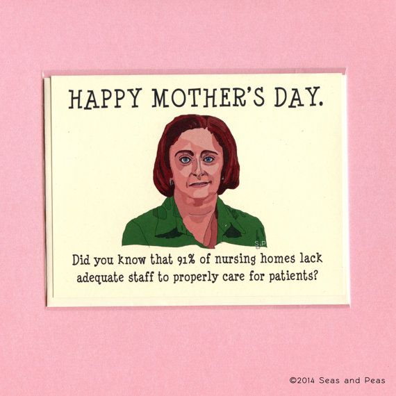 DEBBIE DOWNER MOTHER'S Day  Funny Mother's Day Card by seasandpeas, $4.25 THE PERFECT CARD FOR MOTHER DEAREST