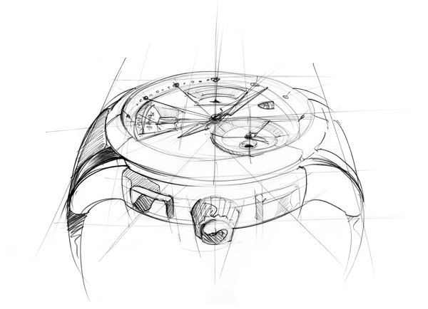 Christophe Claret Adagio Sketches by Clément Gaud, via Behance
