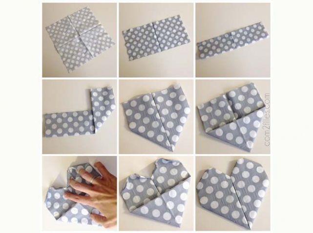 9 façons de plier une serviette papier pour une déco facile – Astuces de filles