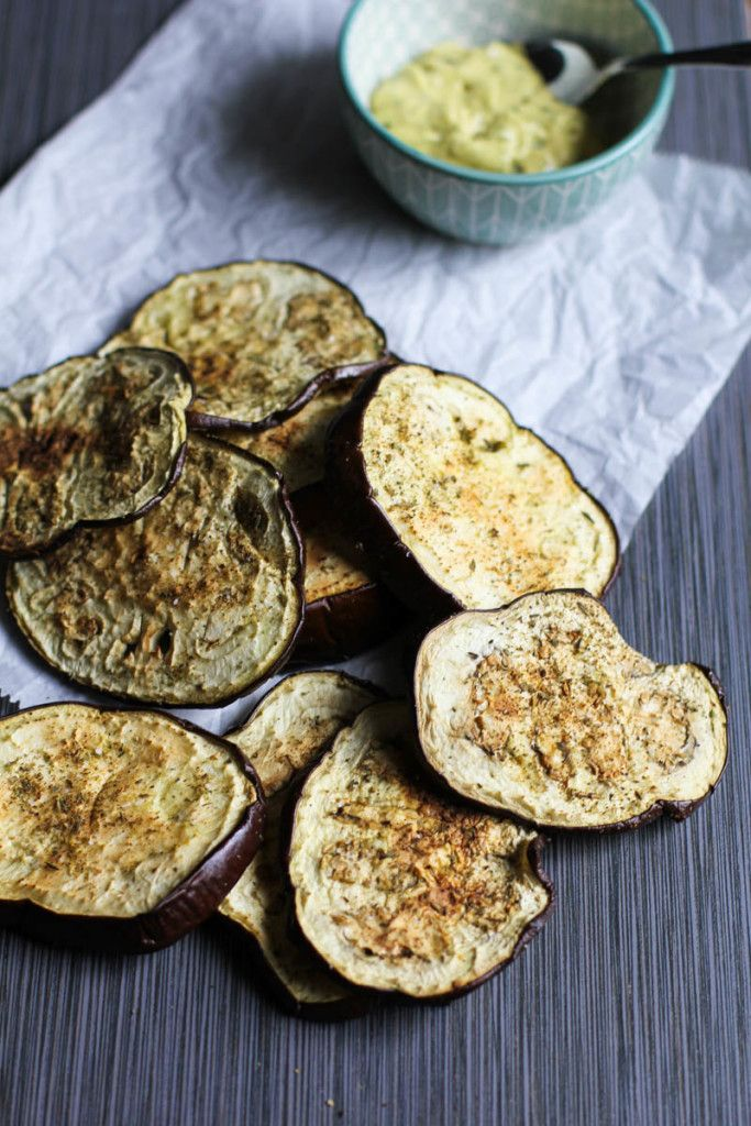 Baked Eggplant Chips                                                                                                                                                                                 More