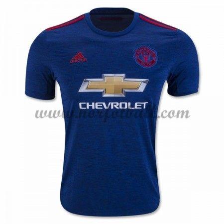 Billige Fotballdrakter Manchester United 2016-17 Borte Draktsett Kortermet