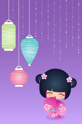 kokeshi Cutie by ~minercia on deviantART