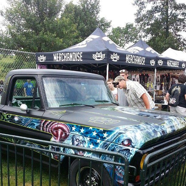 #robzombie The Custom Truck By Counts Custom