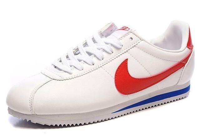 Nike Cortez white red