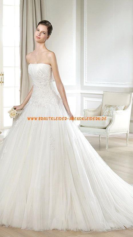 269 best Romantische Brautmode images on Pinterest | Wedding frocks ...
