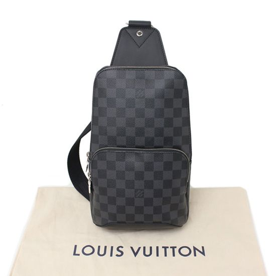 0695e1154a4 Louis Vuitton N41719 Avenue Sling Bag Damier Graphite Canvas