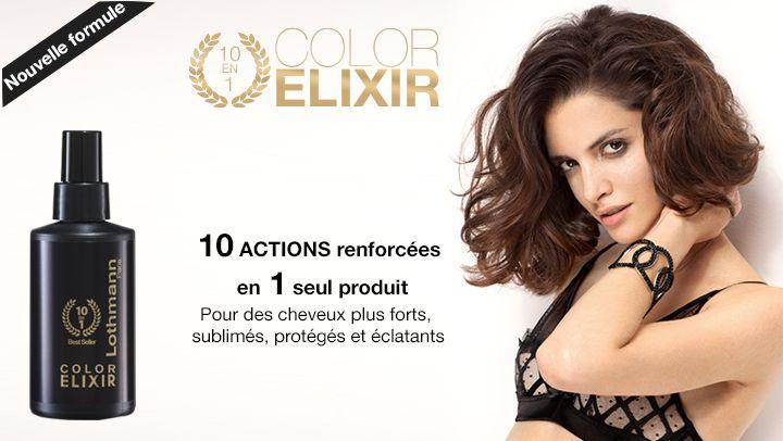 Parfois, 1 seul geste suffit... Et si vous découvriez le Color Elixir de Lothmann Paris, le geste beauté cheveux 10 en 1 qui vous facilite le quotidien? http://www.lothmann.com/color-elixir-lothmann-paris/
