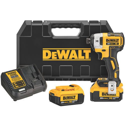"Dewalt DCF887M2, 20V MAX* XR Brushless 1/4"" 3-Speed Impact Driver Kit https://cf-t.com/dewalt-dcf887m2-20v-max-xr-brushless-14-3-speed-impact-driver-kit"