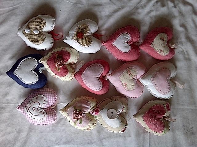 Cushion hearts
