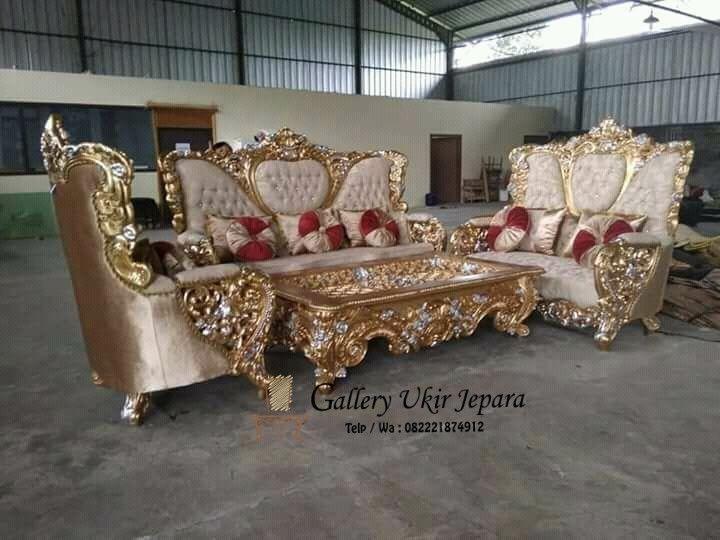 Set Kursi Sofa Tamu Ganesha Mewah Di 2020 Ide Dekorasi Rumah