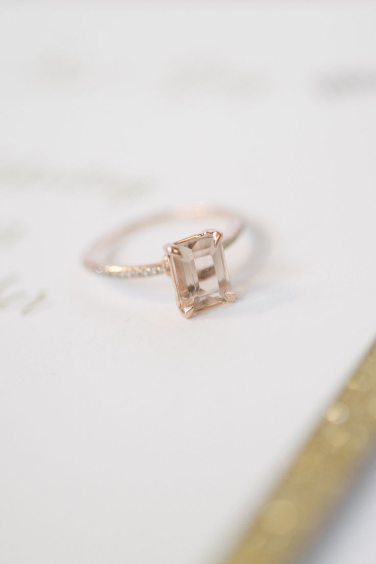 Inspired by Lauren Bushnell's emerald cut engagement ring: http://www.stylemepretty.com/2016/03/15/bachelor-ben-higgins-lauren-bushnell-engagement-ring/