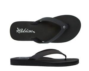 Cobian Sandals Women's Skinny Bounce Black Sandals Flip Flops